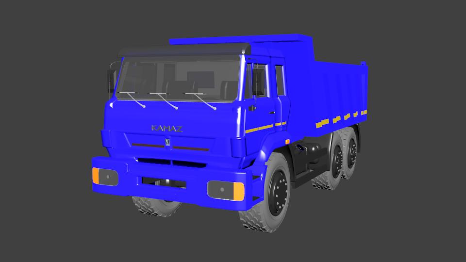 KAMAZ 6520 3D model