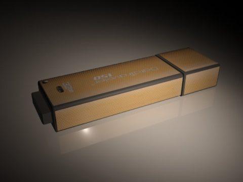 Kingston Flash Drive 3D model