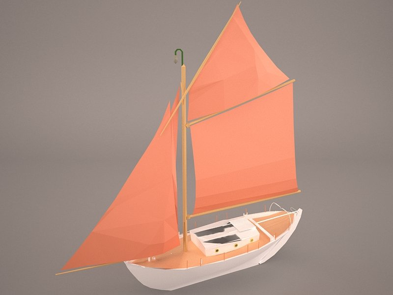 Kurunt Ship 3D model