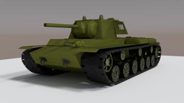 Kv1 3D model