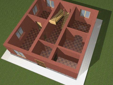 Little house 3D model