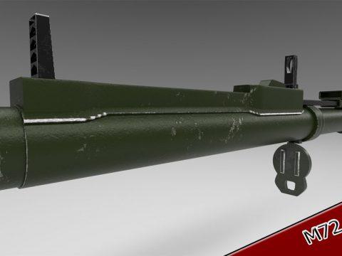 M72 Law 3D model