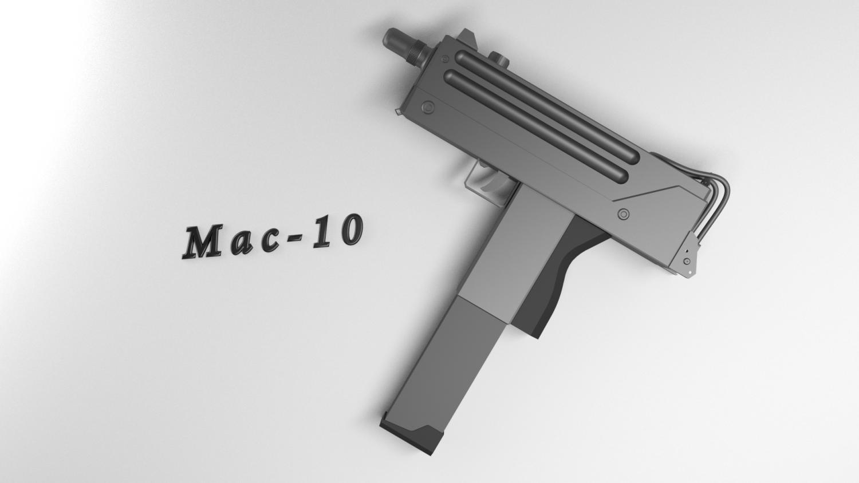 MAC-10 | Free 3D models