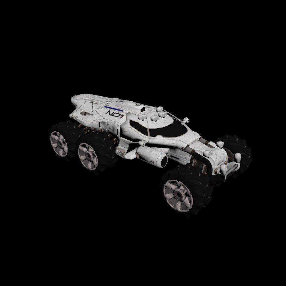 Mass Effect Andromeda - Nomad 3D model