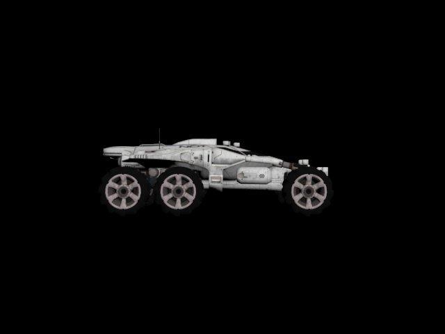 3D Mass Effect Andromeda - Nomad model