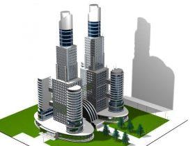 Mega Trade Center 3D model