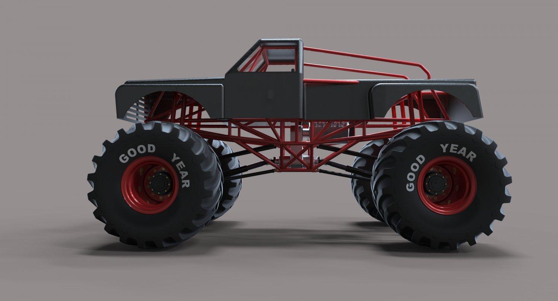 Monster Truck Downloadfree3d Com