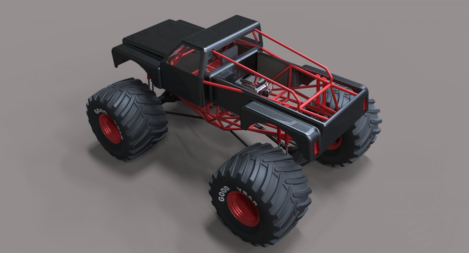 Monster Truck Downloadfree3d Com