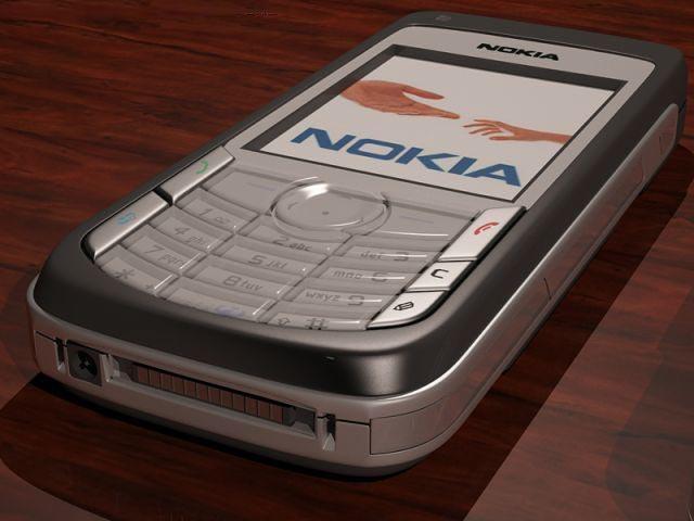3D NOKIA 6681 model