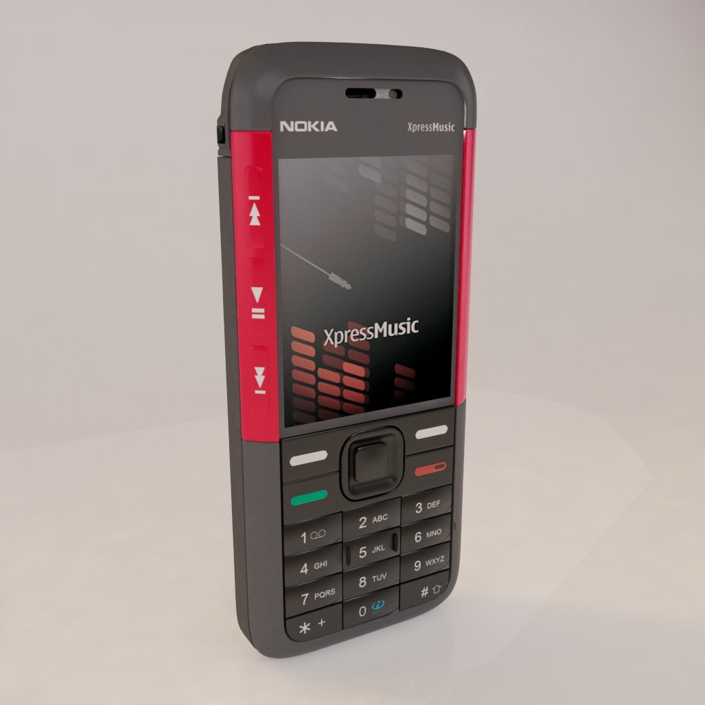 3D Nokia 5310 model
