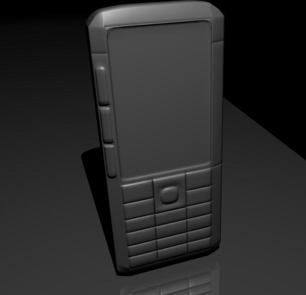 Nokia Xpress music 5310 3D model