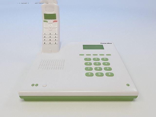 3D Office phone model