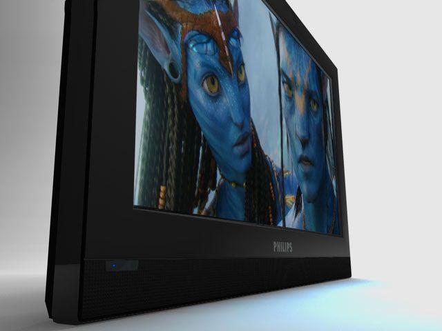 3D PHILIPS TV model