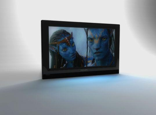 PHILIPS TV 3D model