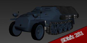 SDkfz251 3D model