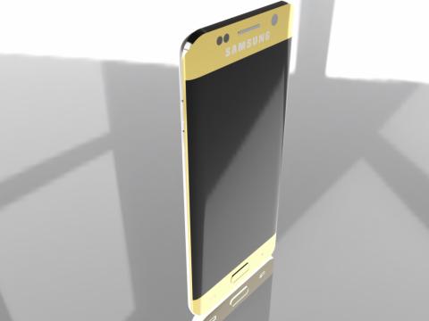 Samsung Galaxy S6 Edge Plus 3D model
