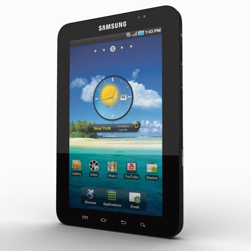 Samsung Galaxy Tab 3D model