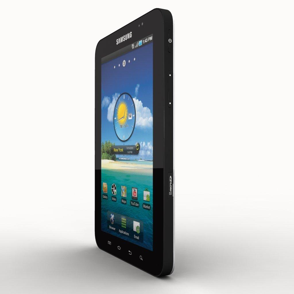 3D Samsung Galaxy Tab model