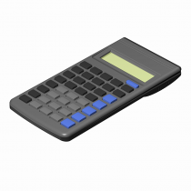 Scientific Calculator 3D model
