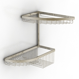 Shelf Colombo Angolari 3d model