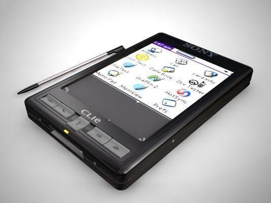 3D Sony Clie model