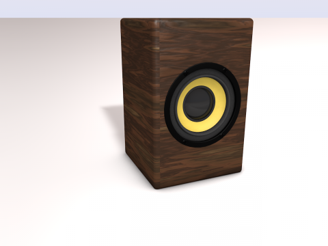 Speakers Sven SPS-820 3D model