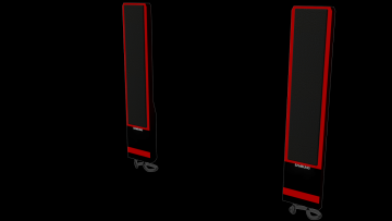 Stereo system Samsung 3D model