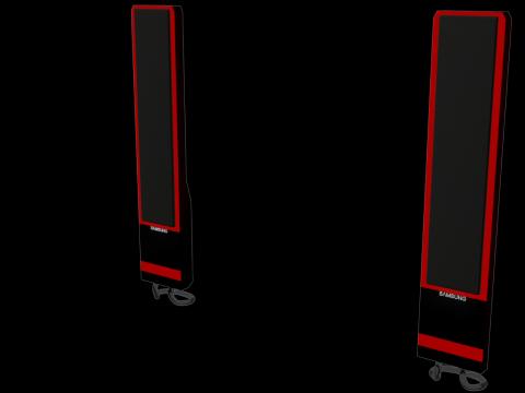 Stereo system Samsung 3D model