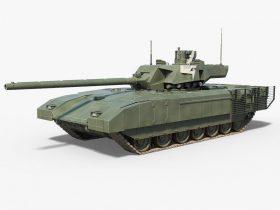 T14 Armata 3D model