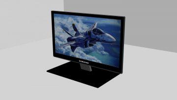 Televisor 3D model