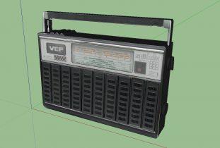 Vintage Radio - VEF Spidola 232 3D model