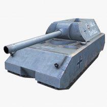WW2 Maus Tank 3D model