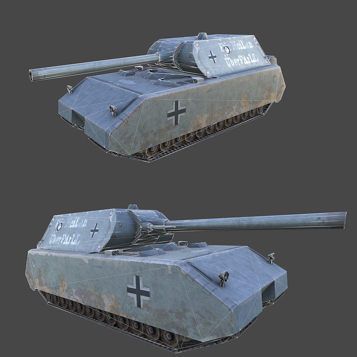 Ww2 Maus Tank Downloadfree3d Com