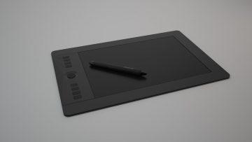Wacom Intuos Pro Tablet S 3D model
