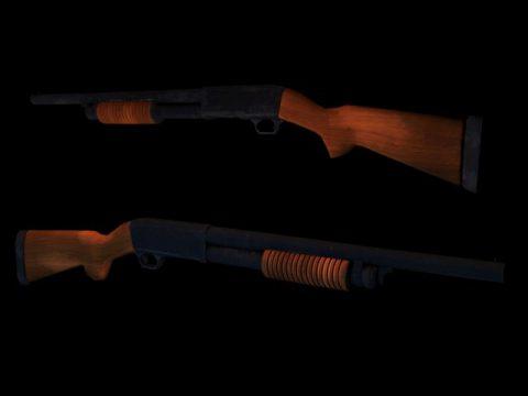 Winchester 3D model