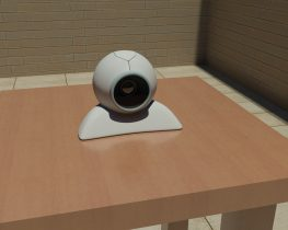 Wireless web camera 3D model