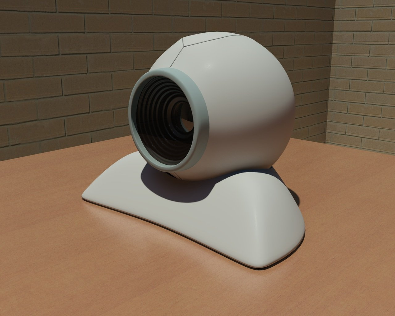 3D Wireless web camera model