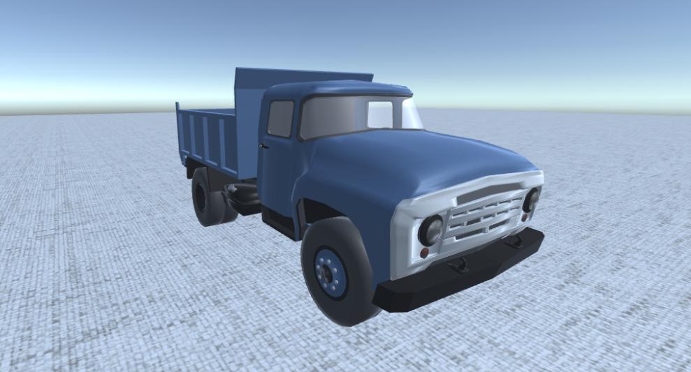 Zil 130 3D model