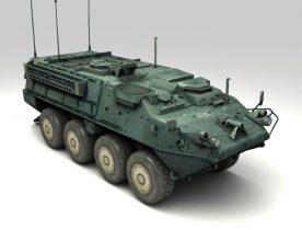 Stryker 3D model