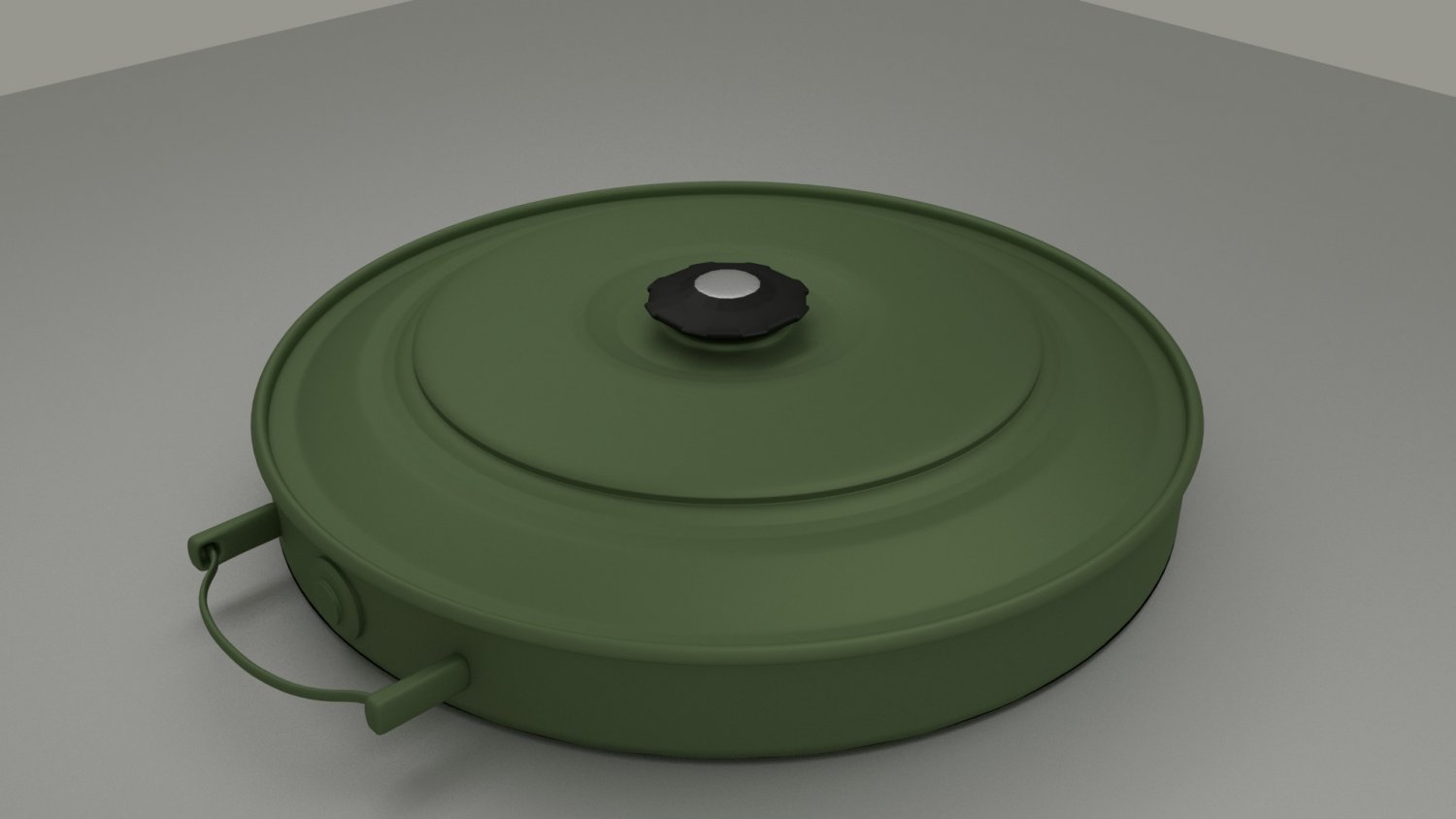 AT - Mine Game Ready 3D model