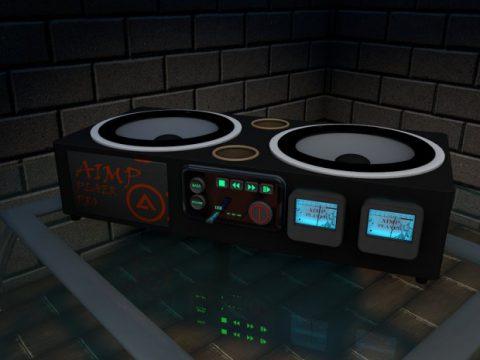 Aimp 3D model