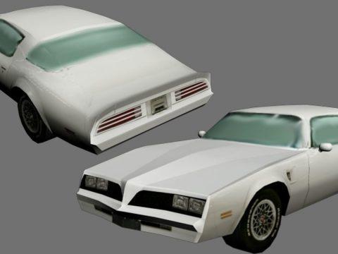 American car 3D model