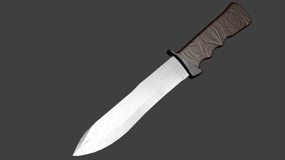 Army Knife 3D model