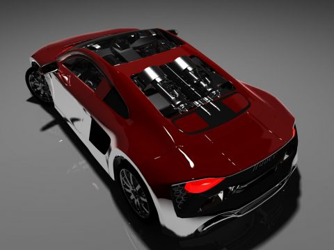 Audi 2017 3D model