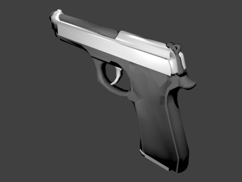 Baretta 92 3D model