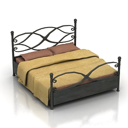 Bed Forged SES 3d model