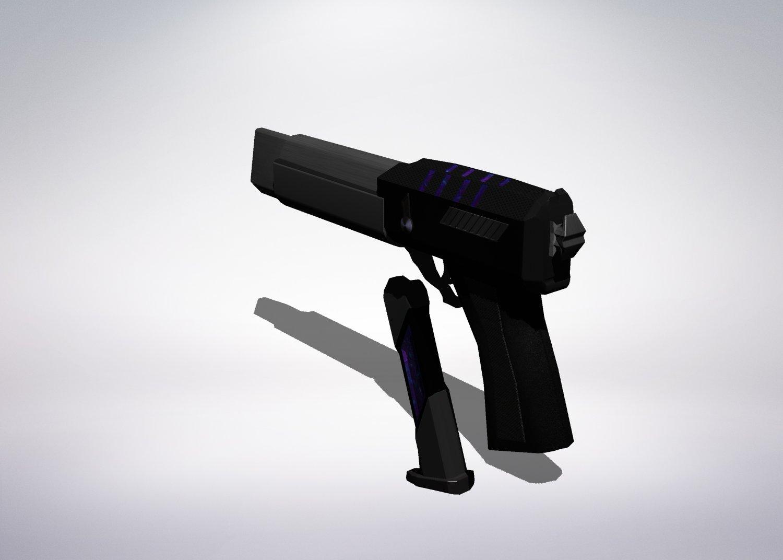Black Plasma Gun Downloadfree3d Com