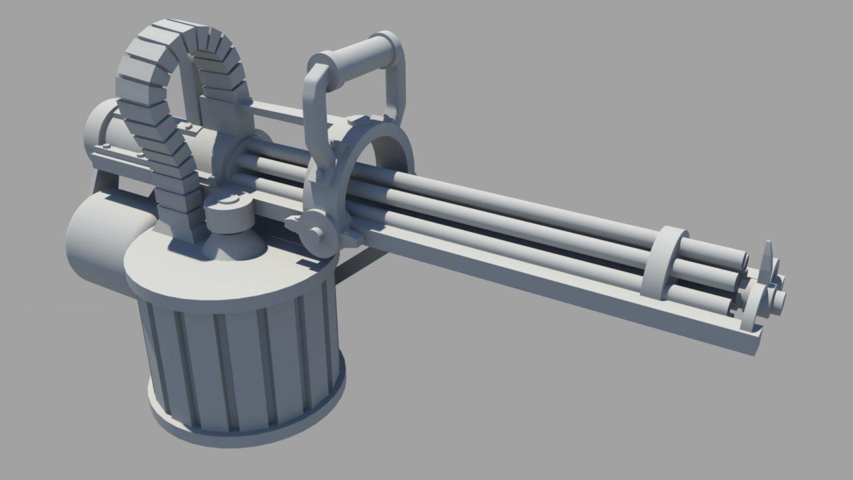 Brass Beast 3D model
