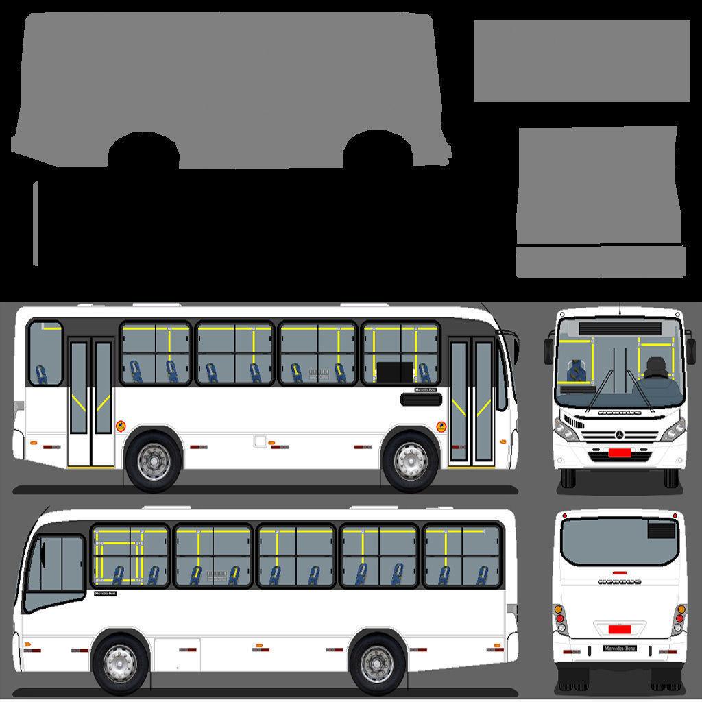 Bus PAZ 3D model