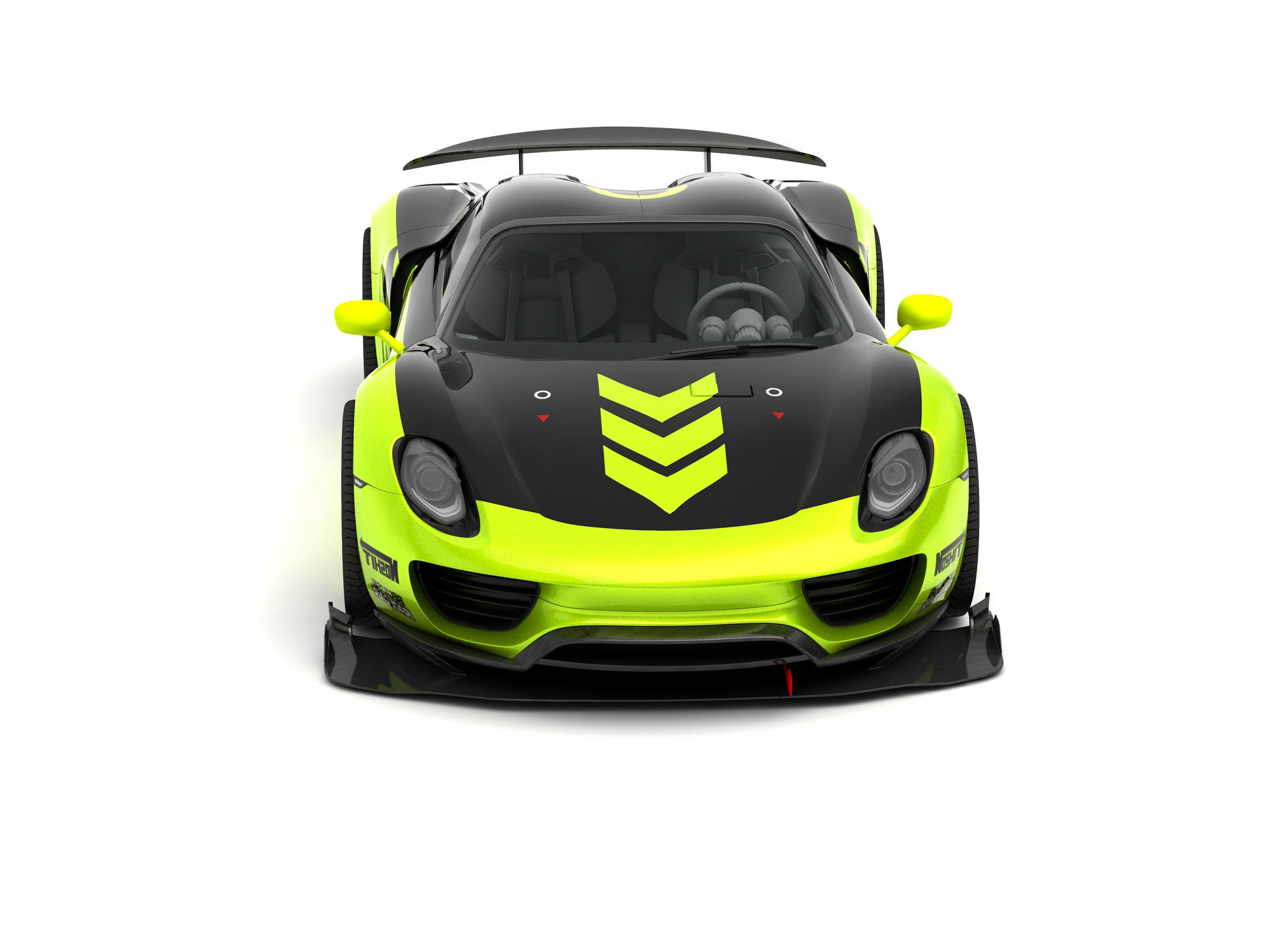 Chimera One Porsche 918 Street Race Concept Free 3d Models
